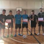 Echipele CSST pe primele 3 locuri (LOCUL I - C.S.S.T. Tg. Mureş, LOCUL II - C.S.S.T. Cluj 1 şi LOCUL III - C.S.S.T. Cluj 2)